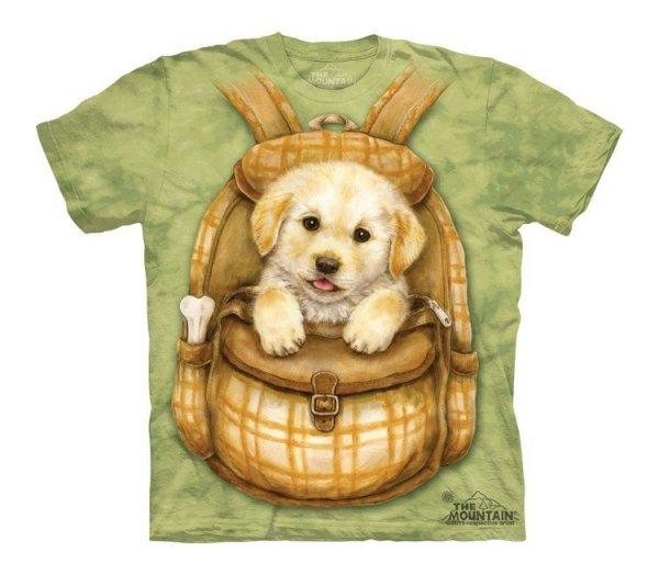 Puppy Backpack - The Mountain - Koszulka Dziecięca