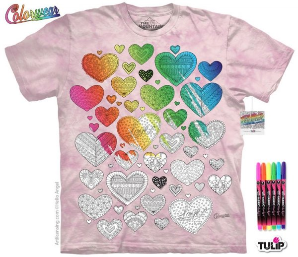 Hearts on Hearts - Colorwear -The Mountain