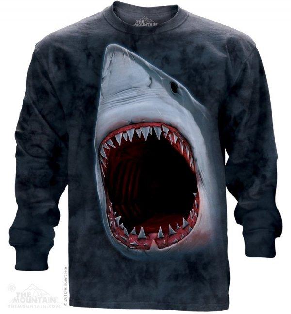 Shark Bite - Long Sleeve The Mountain