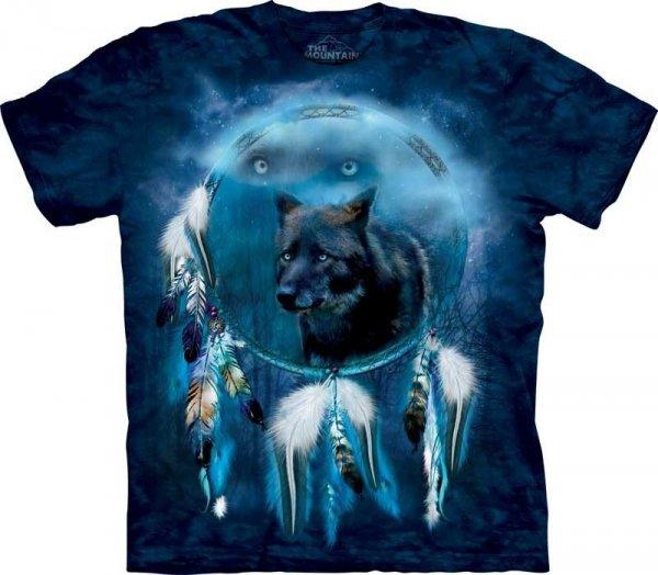 Black Wolf Spirit Shield - The Mountain