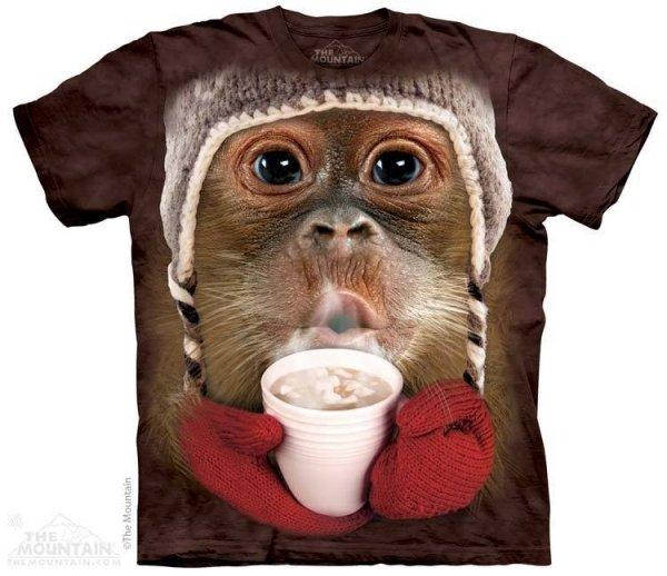 Hot Cocoa Orangutan  - The Mountain