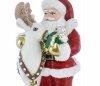 weihnachtsmann 15 cm  mit rentier