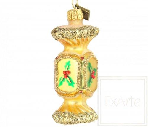 Candy 7,5 cm - Surprise in gold foil