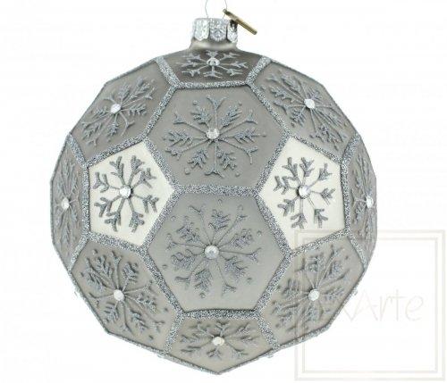 Polyeder 12cm – Schneefall