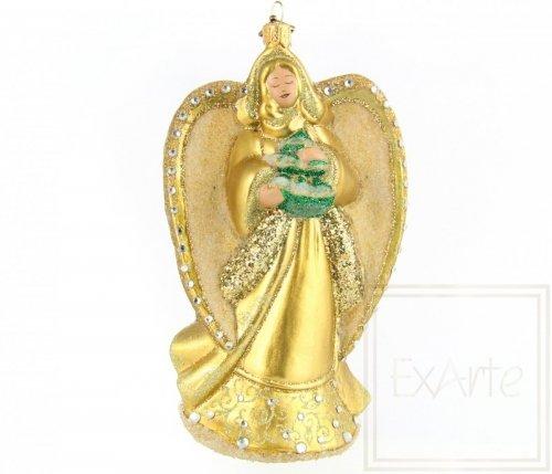 Goldiger Engel - 15,5cm