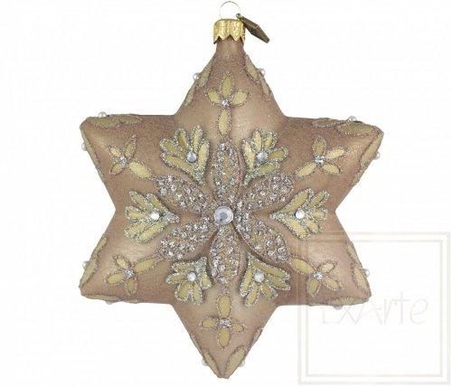 Gwiazda 12cm - Ciepły blask