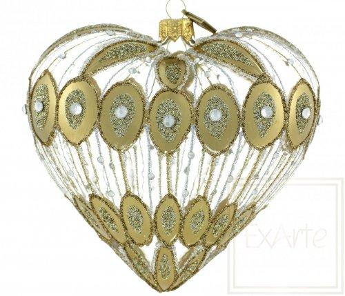 Serce 12cm - Złota fontanna