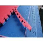 Mata treningowa puzzle 1m x 1m x 4cm z obrzeżami