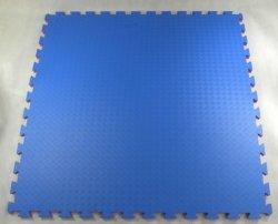 Mata puzzle 100 cm x 100 cm x 2 cm czerwono-niebieska