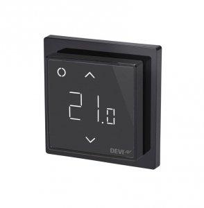 Termostat DEVIreg Smart Wi-Fi czarny