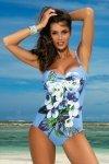Marko Kostium kąpielowy Rebecca M-422 Azzurro
