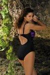 Marko Kostium kąpielowy Selena M-420 Nero-Incanto