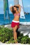 Spódniczka plażowa Marko Kayla M-363 Arizona-Bianco
