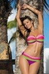 Kostium kąpielowy Marko Taylor M-350 Very Fuchsia-Hollywood Popstar-Smile