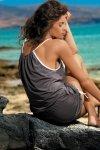 Tunika plażowa Marko Leila Piedra M-312 mocca (292)