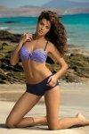 Kostium kąpielowy Marko Tiffany Harmony-Blueberry M-319 lawenda z granatem (111)