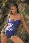 Marko Kostium kąpielowy Nicole M-378 Royal Blue
