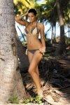 Kostium kąpielowy Marko Amber Jungle-Light Skin M-260 Popielato-kawowy (49)