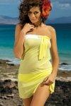 Tunika plażowa Marko Mia Lime M-241 Żółta (205)