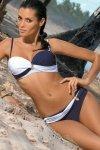 Kostium kąpielowy Marko Liliana Uniform-Bianco M-259 Granatowo-biały (18)
