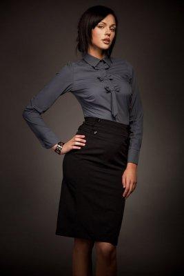 Nife Selene Mod. Sp06 Czarna spódnica