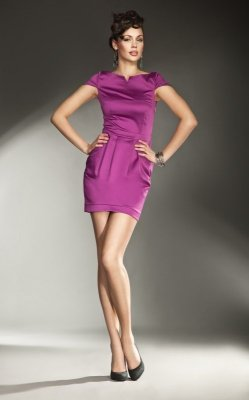Nife Allesandria s11 Fuksja sukienka