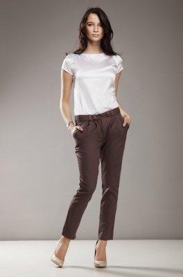 Nife Evie Cygaretki sd01 mocca spodnie