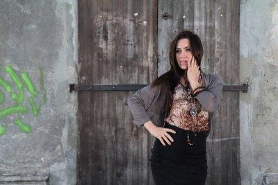 Vittoria Ventini Cristina mocca sweter