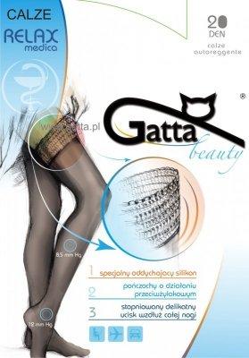 Gatta Calze Relaxmedica DEN 20 pończochy