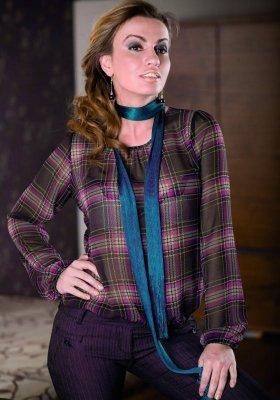 Lookat Giovanna 3067 śliwka bluzka damska