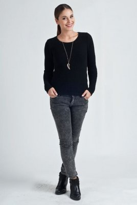 MKM Iga czarny sweter