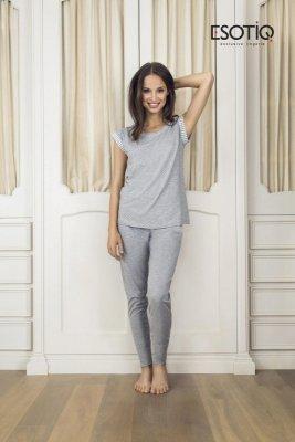 Esotiq Dessa 1 (33547-09X) (33549-09X) Szary piżama damska