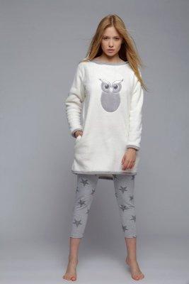 Sensis Sowa Soft piżama damska