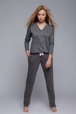 Sensis Emma grafitowa piżama damska