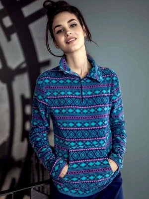 Key Blue Lady LHS 877 B6 piżama damska