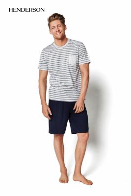 Henderson Miles 34982-09X Szara piżama męska