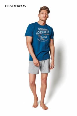 Henderson PJ020 34975-67X Morskozielona piżama męska