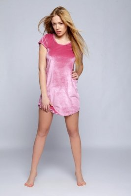 Sensis Celebrity K-001 Perłowy róż koszula nocna
