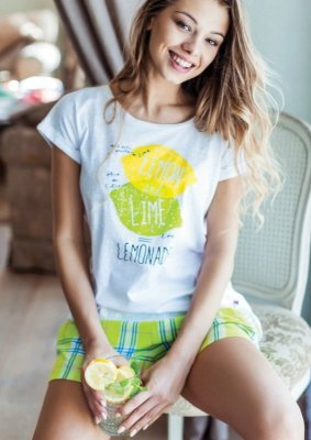 Key Lemonade LNS 485 A7 piżama damska