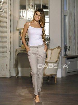 Babell Amelia 3080 Beżowe spodnie