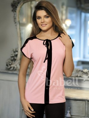 Babell Vanessa Morelowo-różowa bluzka damska