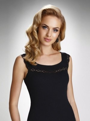 Eldar Nela Plus Czarna bluzka damska
