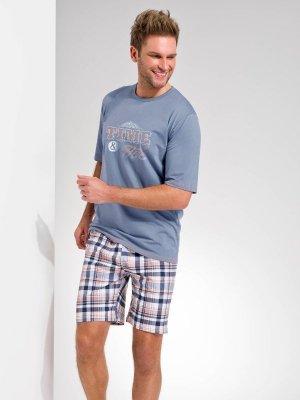 Taro Nikodem 2085 K2 Szara piżama męska