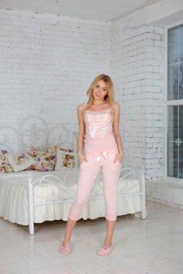 Roksana Sweet Pink Love 501 piżama damska