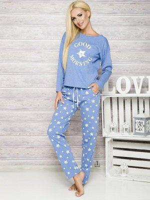 Taro Nadia 1190 K1 Niebieska piżama damska