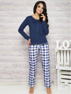 Taro Nati 2112 AW/17 K2 Granatowa piżama damska