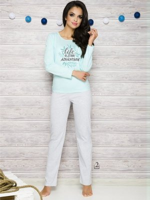 Taro Sylwia 286 AW/17 K2 Miętowa piżama damska