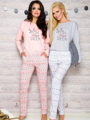Taro Sofia 2115 AW/17 K1 Różowa piżama damska