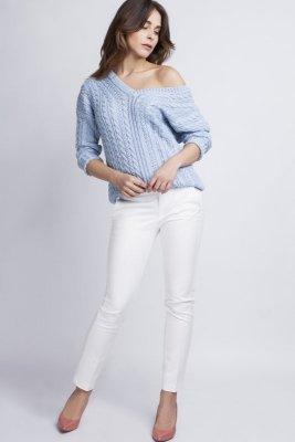 MKM Kendall SWE 079 Błękitny sweter