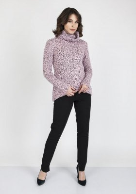 MKM Nicola SWE 103 Różowy sweter